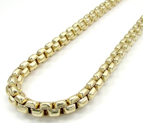 14k Italian yellow gold box chain