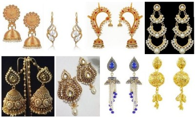 15 Beautiful & Attractive Wedding Earrings for Brides