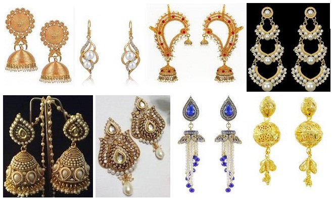 5463c4fb73c50 15 Beautiful & Attractive Wedding Earrings for Brides | Styles At Life