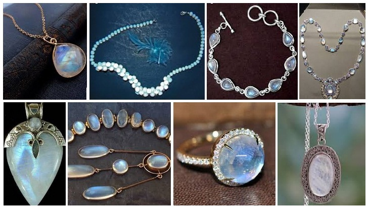 15 Latest Moonstones Jewellery Designs with Images