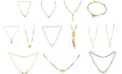 Latest Short Mangalsutra Designs