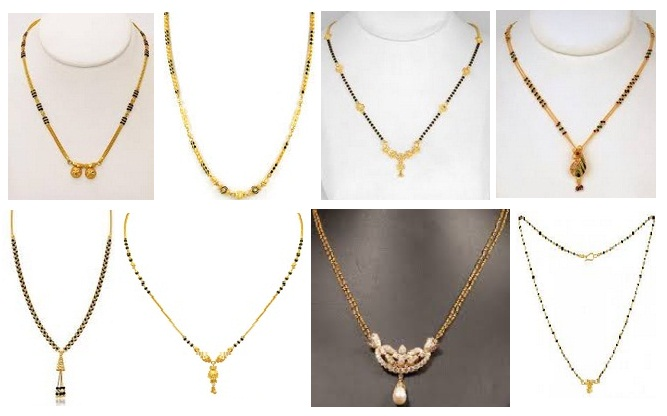 simple mangalsutra Designs