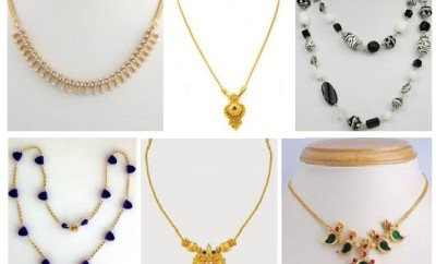 15 Latest Simple Necklace Designs for Women in Fashion