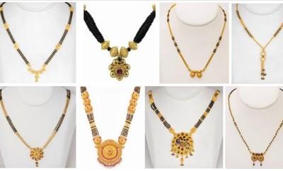 maharashtrian gold mangalsutra designs