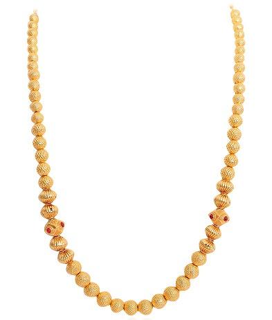 22k Fancy Balls Gold Chain