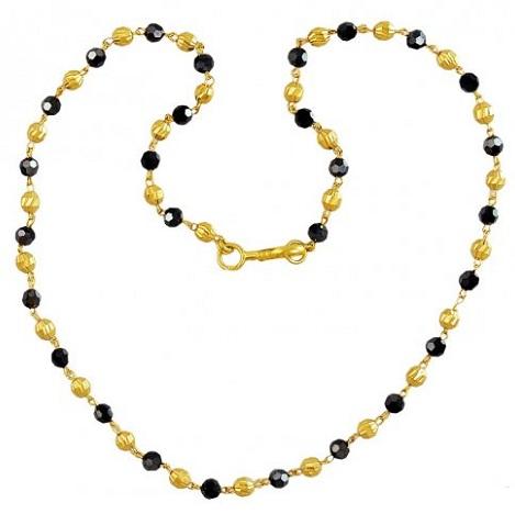 22k Gold Tulsi Chain