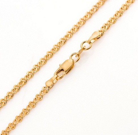 22k Gourmet Gold Chain