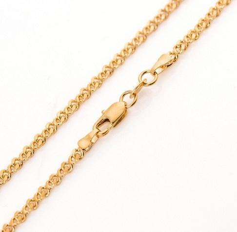 22k Gourmet Gold Chain