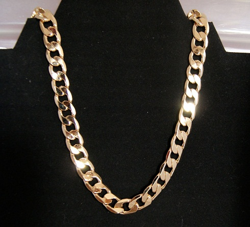 24k Cuban Gold Chain