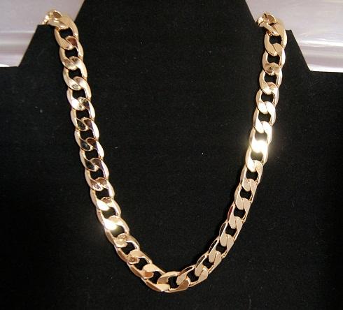 24k Cuban Gold Chain