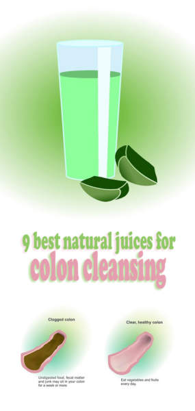 Natural Juices for Colon Cleansing