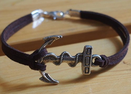 Antique Anchor Bracelet
