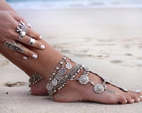 Antique Foot Anklet for Women