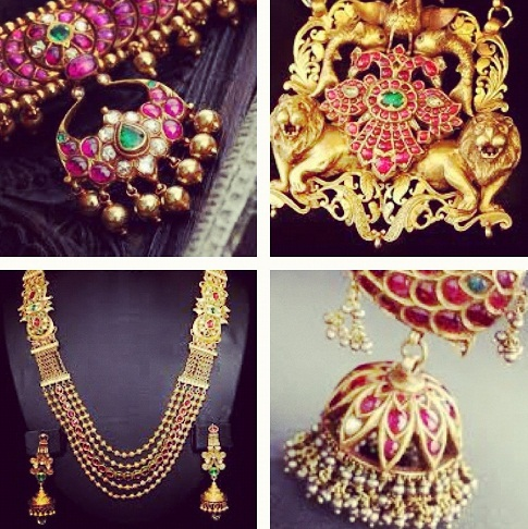 AntiqueBharatanatyam Temple Jewellery