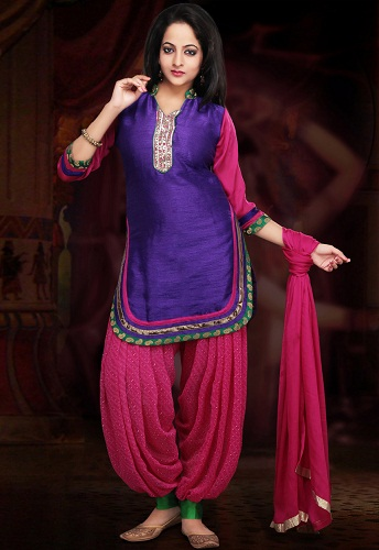 Apple Cut Afghani Salwar Suit