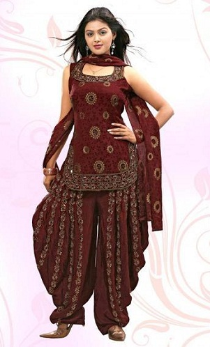 Apple cut Casual Salwar Kameez