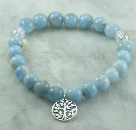 Aquamarine Gemstone Beads