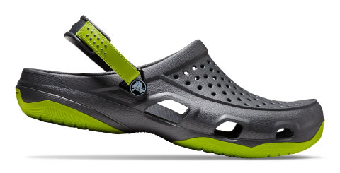 Back strap unisex water shoes