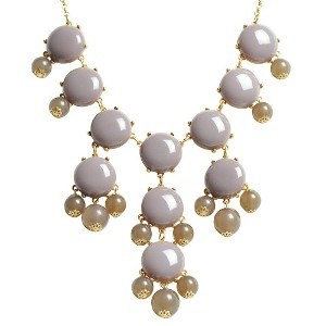 Bauble chunky necklace