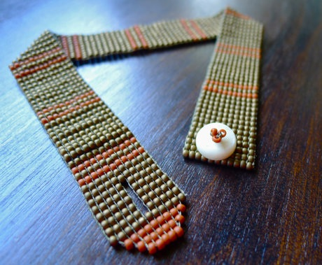 Beaded Woven Anklets