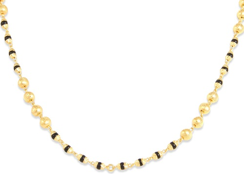 Beaded fancy mangalsutra