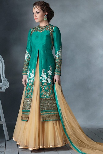 8a94f575ba 9 New Designs of Salwar Kameez Skirts for Womens | Styles At Life