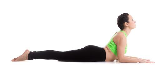 Bhujangasana for Tough Back Fat