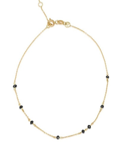 Black Diamond Anklets for Women