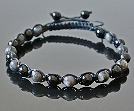 Black Pearl Anklets for Men