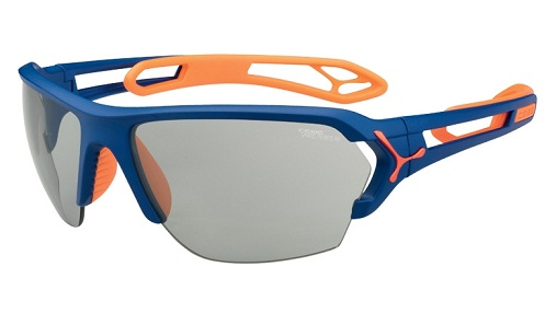 Blue-Orange Frame Mens Sunglass -28