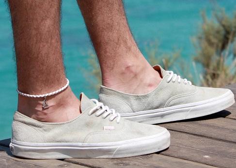 Boat Charm Leg Anklet for Men