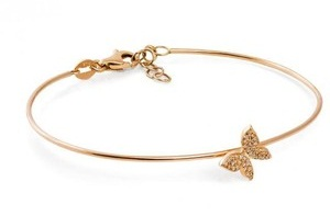 Butterfly Gold Platted Bracelet