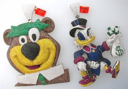 Cartoon custom pendants