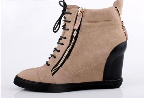 Casual shoes with zipper for women -14