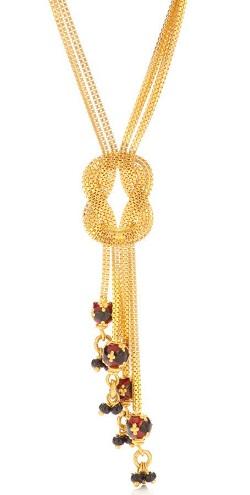 Chain bundle shortmangalsutra