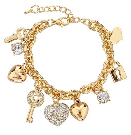 Charm Gold Platted Bracelet
