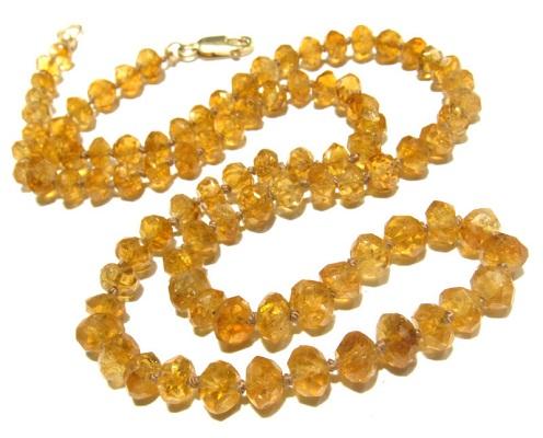 CitrineGemstone Necklace