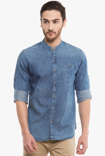 25 latest denim shirts for men in fashion styles at life
