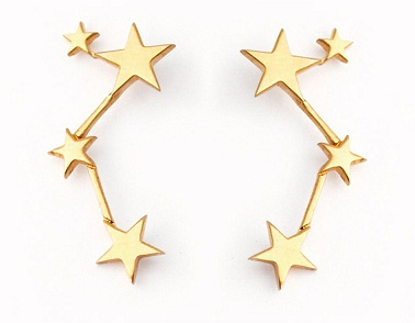 Constellation Star Earrings