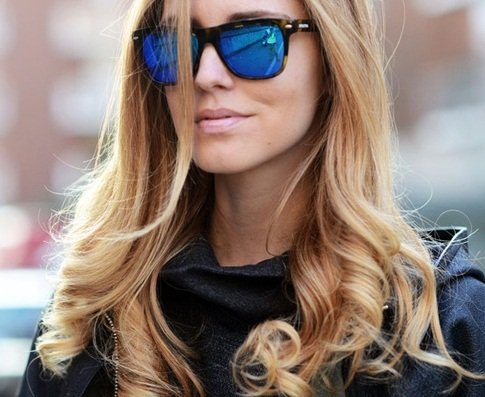 Cool Reflective Wayfarers for Women