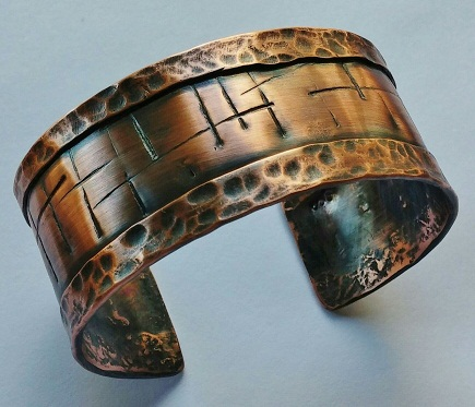 Copper Cuff Custom Bracelet