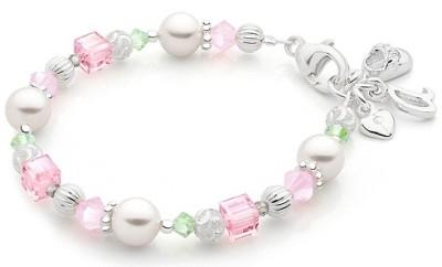 Cotton Candy bead bracelet
