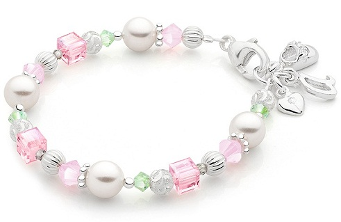 Cotton Candy bead bracelet