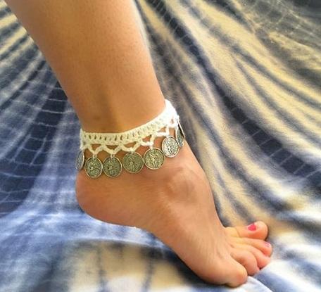 Crochet Boho Anklet
