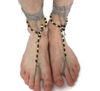 Crochet Slave Anklet for Men