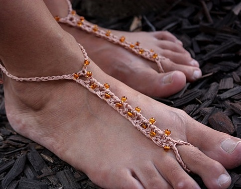 Crochet Yoga Anklet for Men