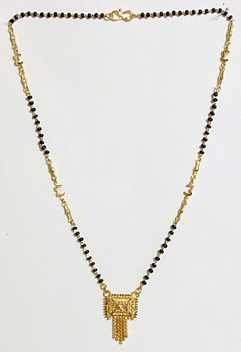 Crown Gold Platted Mangalsutra