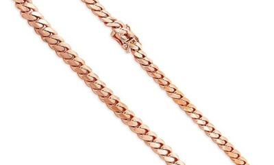 Cuban Rose Gold Chain