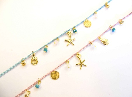Cute Handmade Anklets for Girls