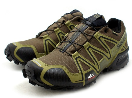 Dark Khakhi Speed Cross Men's Running Shoes